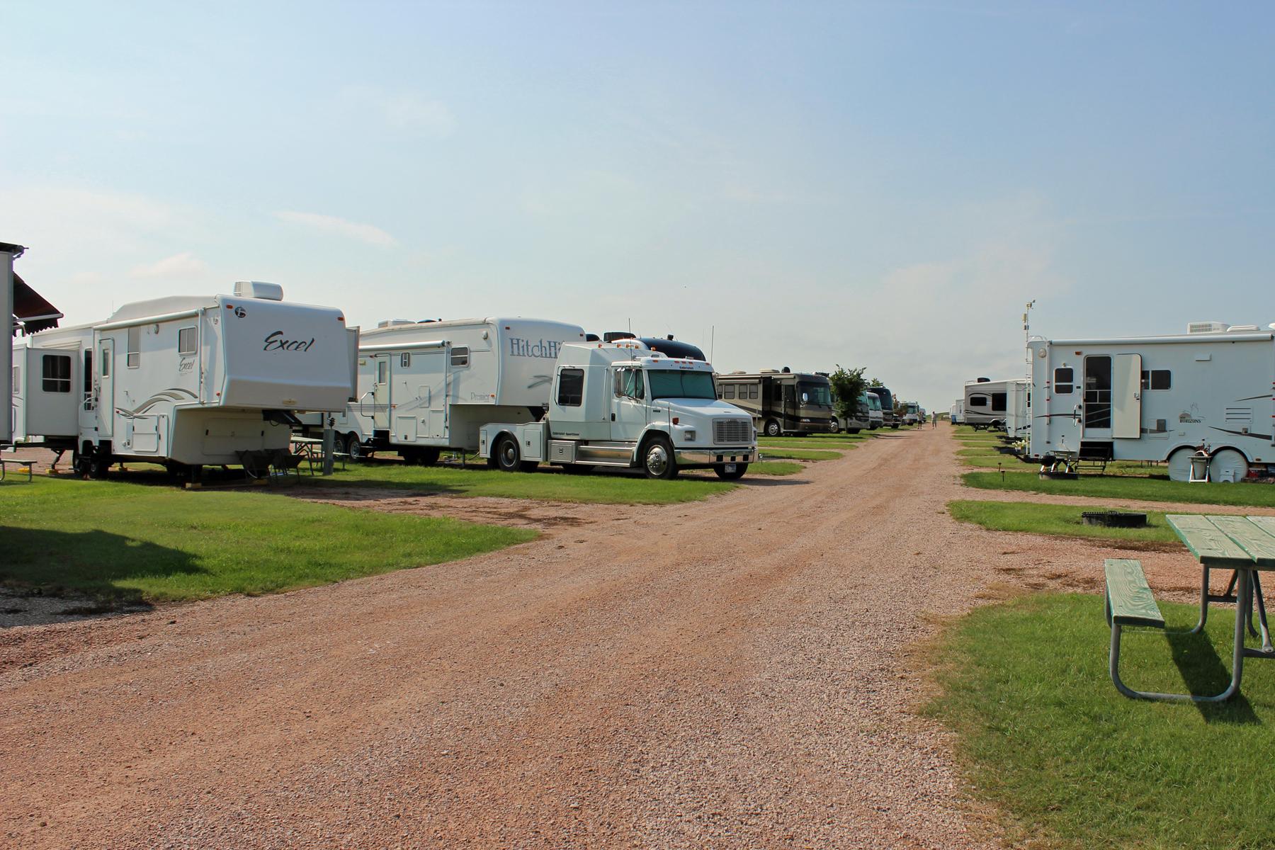 Heartland RV Park Hermosa South Dakota