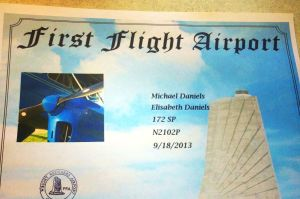 FirstFlight-Certificate