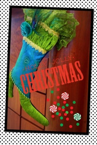 Pic Collage, Holly Jolly Christmas, original photography, digitally edited, Milwaukee, Wisconsin, Azana Salon, polka dots