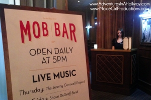 Mob Bar, Las Vegas, Nevada, drinks, happy hour, girlfriends, Mob Museum, travel, photography, iPhoneography, Downtown3rd