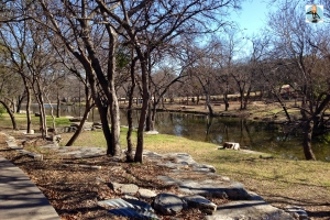 Memorial Park, Round Rock, Texas, dog walking, memorials, history, WWII, Vietnam, Brushy Creek, river walk, stairs, workout, outdoors, dogs, exercise,